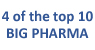 4 of top 10 big pharma